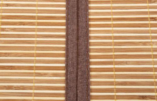 Bamboo sleeping mat foldable both size sheet rug floor mat cool 双面折叠金砖系列竹席凉席