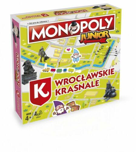 5036905028790 Monopoly Junior Wrocławskie Krasnale Winning Moves