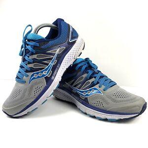 Blue//Grey Women/'s Running//Walking Shoe Saucony Omni 16 Multiple Sizes