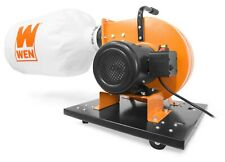 Wen Dc3402 74 Amp 15 Gallon Bag Rolling Dust Collector With Induction Motor