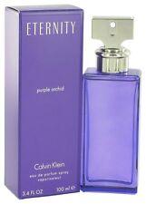 Eternity Purple Orchid Calvin Klein Women 3.4 oz 100 ml Eau De Parfum Spray Nib