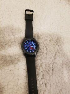 Samsung Galaxy Watch SM-R810 42mm Midnight Black Case Classic Buckle Onyx Black