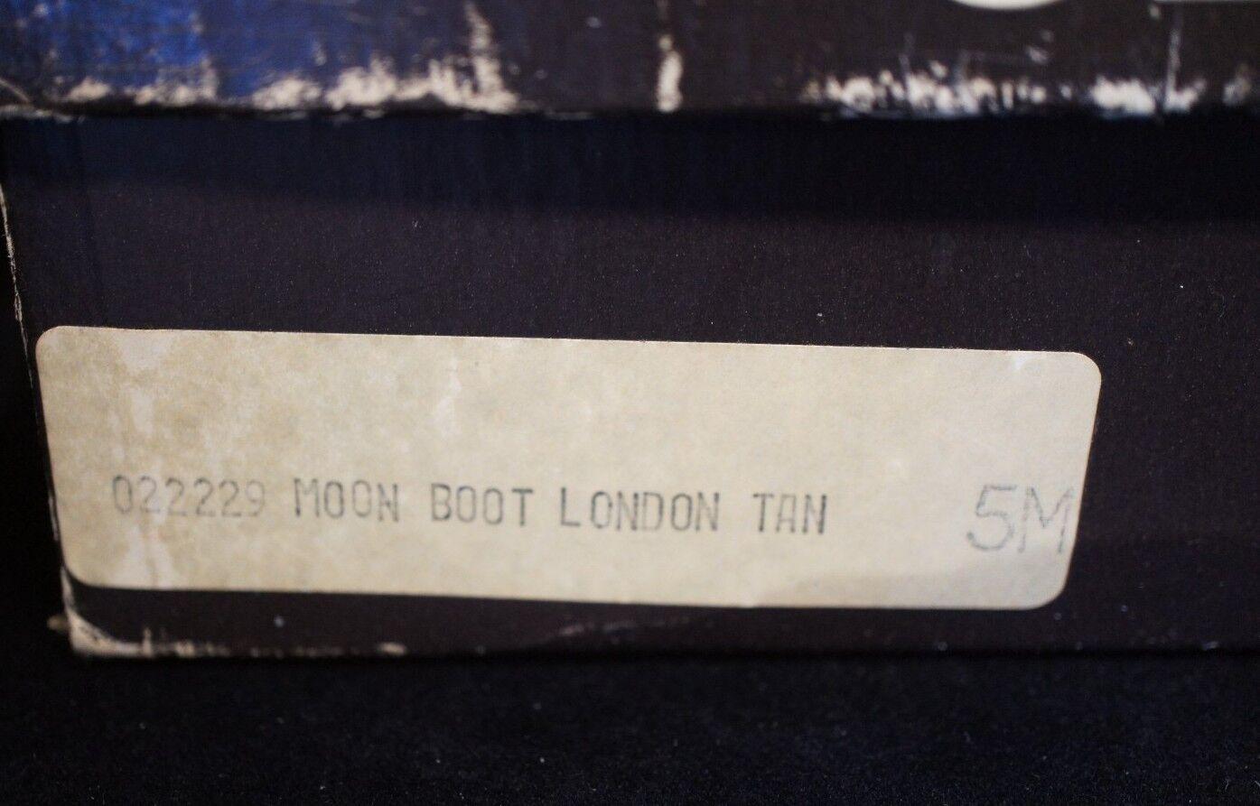 Andrew Geller sleekers Luna Arranque Londres Londres Londres Mujer Bronceado Tamaño 5 W   Caja Original 8f15f5