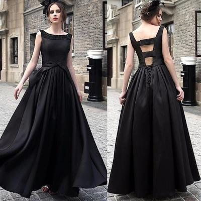 Elegant Women Formal Cocktail Evening Party Dress Ball Gown Long Maxi Prom Dress