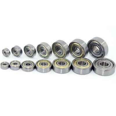 10pcs MR148ZZ 8X14X4mm Miniatur-Tiefnut Einreihigkugel Kugellager MR52ZZ MR128ZZ
