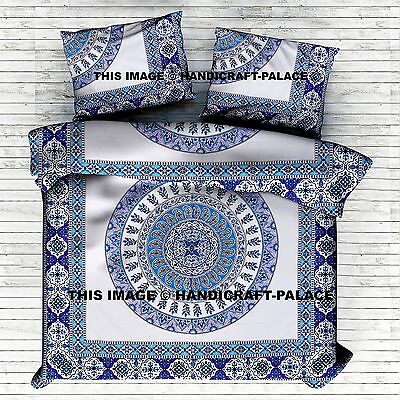 Indian Urban Outfitters Mandala Queen Duvet Doona Cover Set Boho Hippie Blanket