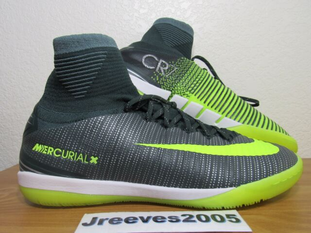 66b71e486f6f Nike MercurialX Proximo II CR7 IC Sz 10 100% Authentic Indoor ACC CR 852538  376