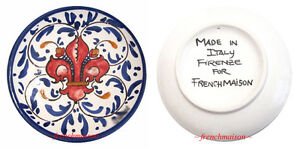 Image is loading MADE-IN-ITALY-for-FRENCHMAISON-Italian-Hand-Painted-  sc 1 st  eBay & MADE IN ITALY for FRENCHMAISON Italian Hand Painted Ceramic Plate ...