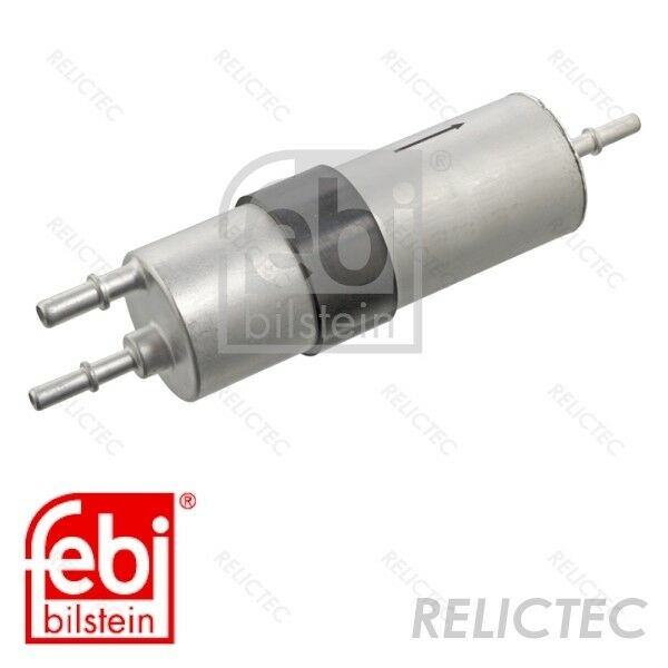 pack of one Blue Print ADB112307 Fuel Filter with gaskets