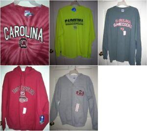 NEW-South-Carolina-gamecocks-APPAREL-CHOICE-zip-hoodie-Long-Sleeve-t-shirt-T10