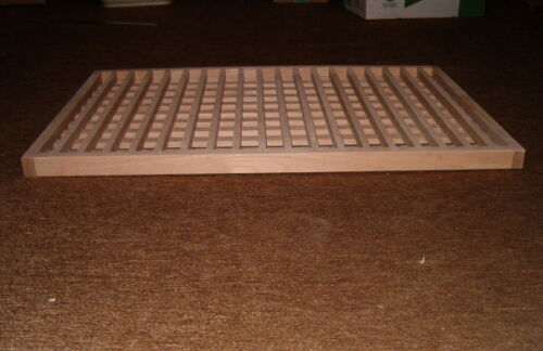 Custom Made Wood Egg Crate Floor Grate