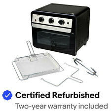 Curtis Stone 1700-Watt 22L Air Fryer Oven w/Rotisserie - Certified Refurbished