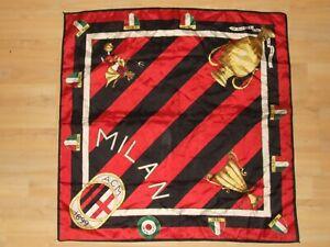 SCIARPA-SCARF-BANDIERA-FLAG-CALCIO-ULTRAS-MILAN-POLIESTERE-370