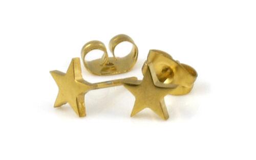 Stainless Steel Star Stud Earring men boy girl women teen earing gift