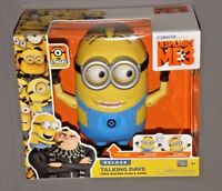 Despicable Me 3 Me3 Minion Deluxe Talking Dave Figure W Free Moving Eyes & Arms