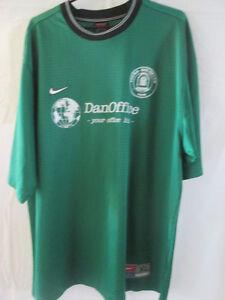 Thuro-Boldklub-No-9-Match-Worn-Home-Football-Shirt-Size-XL-8637