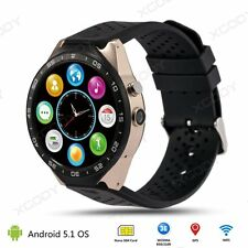 KW88  Bluetooth Smart Watch Phone Mate SIM Android 5.1 Quad core 4GB WIFI GPS