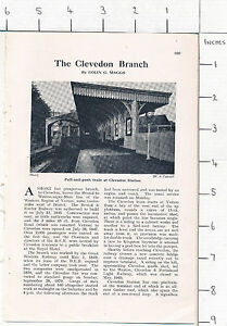 ZAS62* The Clevedon Branch 1958 magazine article