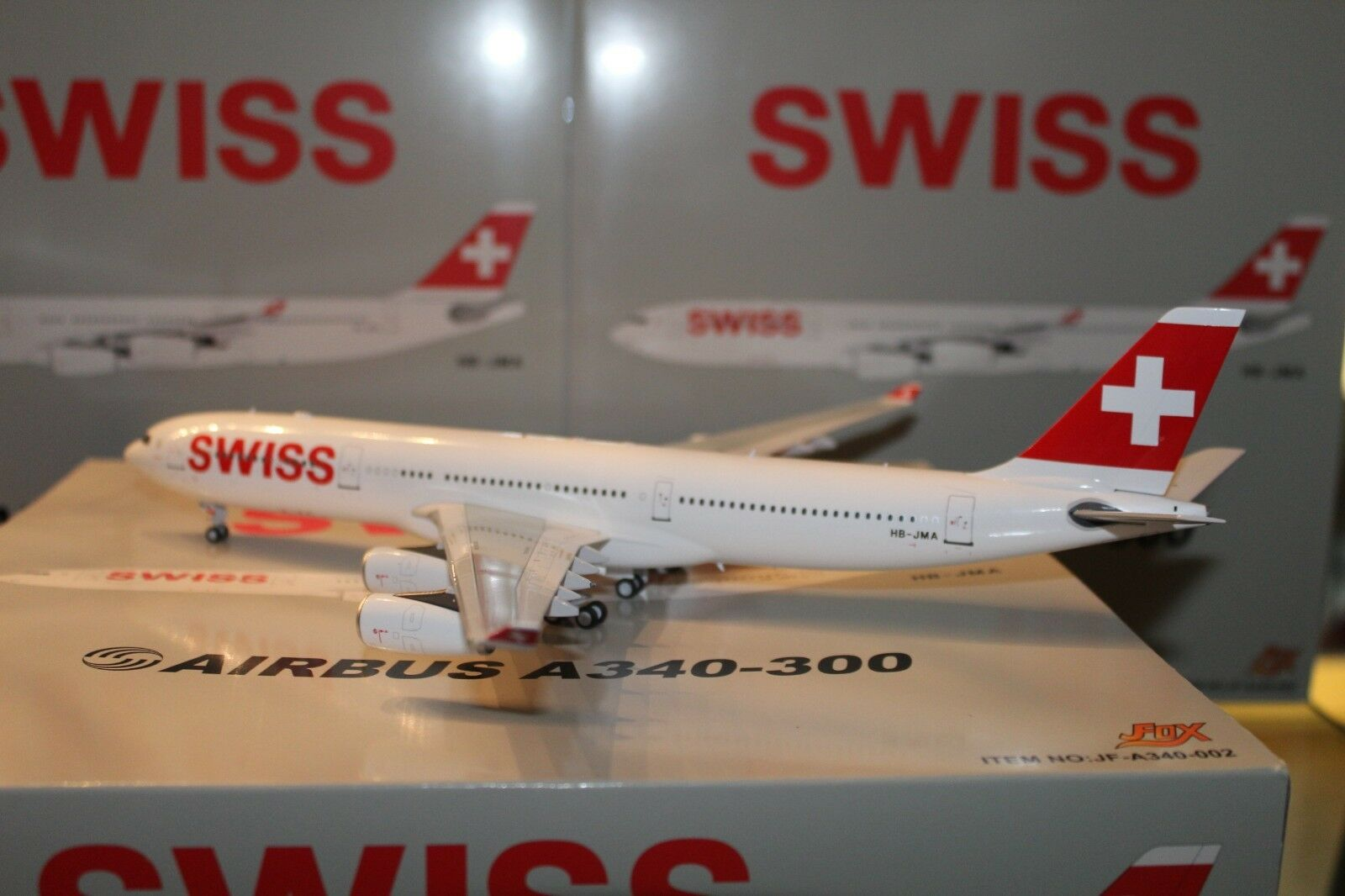 Swiss A430-300 (HB-JMA) 1 200, JFox MODELS
