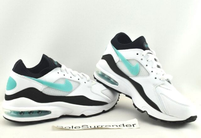 3811153fae Women's Nike Air Max 93 - CHOOSE SIZE - 307167-100 Dusty Cactus Black Retro