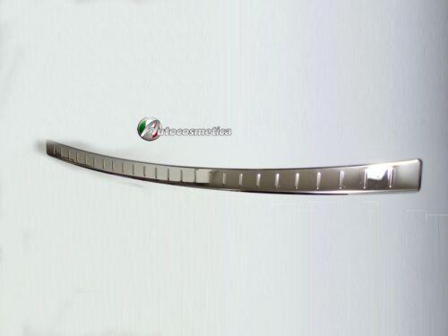 Modanatura battivaligia paraurto posterior acciaio satinata Nissan Qashqai 17-19