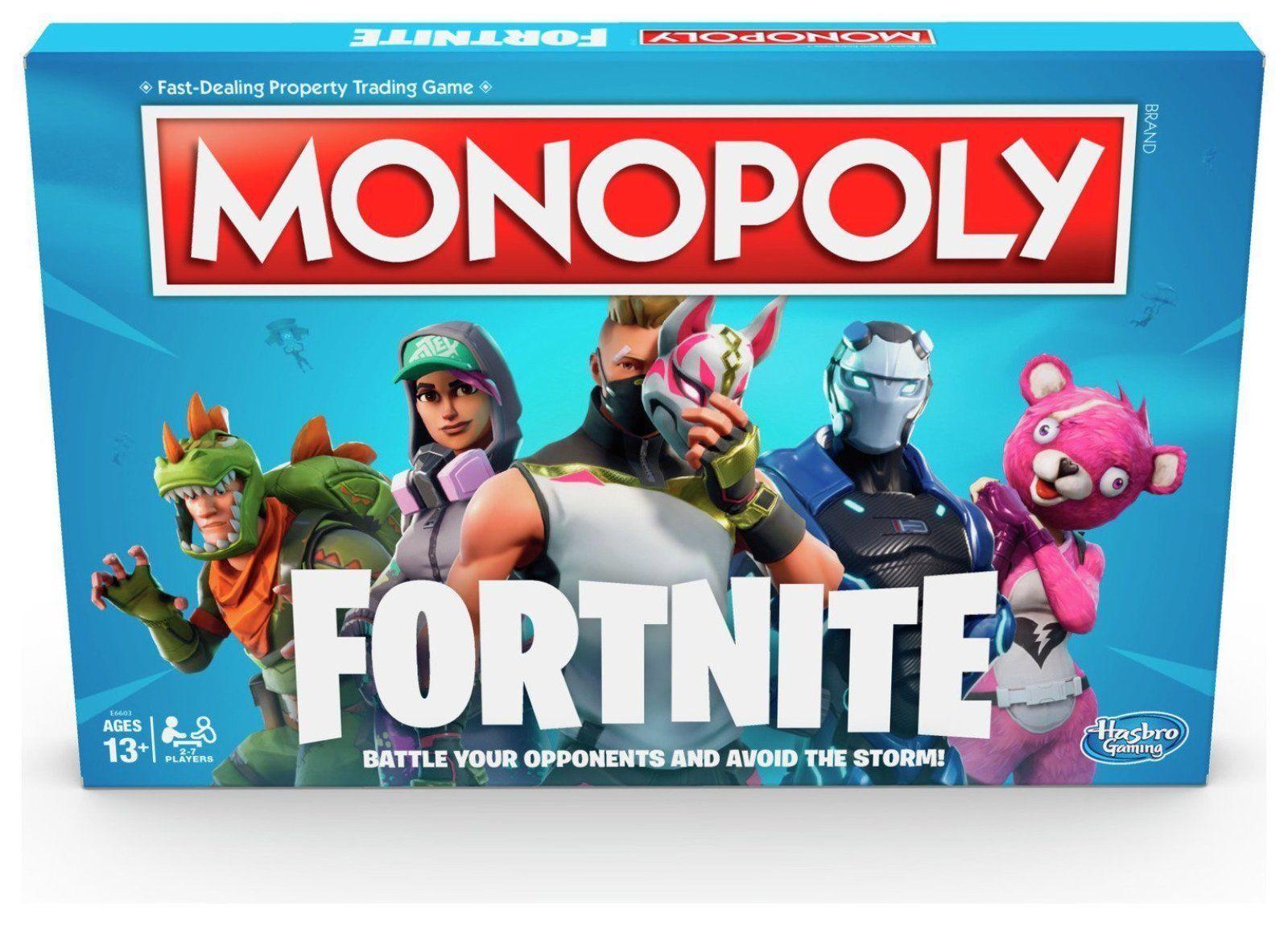 Profitez Profitez Profitez de la fin de l'année, copiez le prix du cadeau, c'est au-delà de votre imagination! Fortnite Monopoly Board Game-Famille, - Carte par Hasbro Gaming b1e082