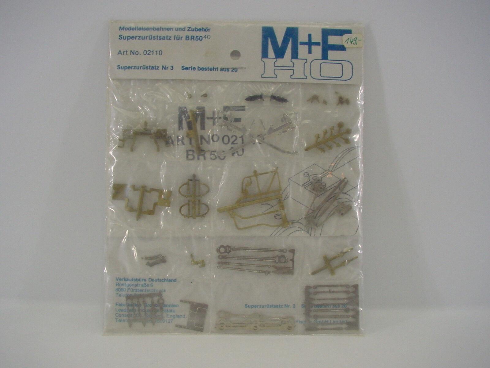 M&F 02110 Zurüstsatz BR50 40  neu OVP s. Bilder