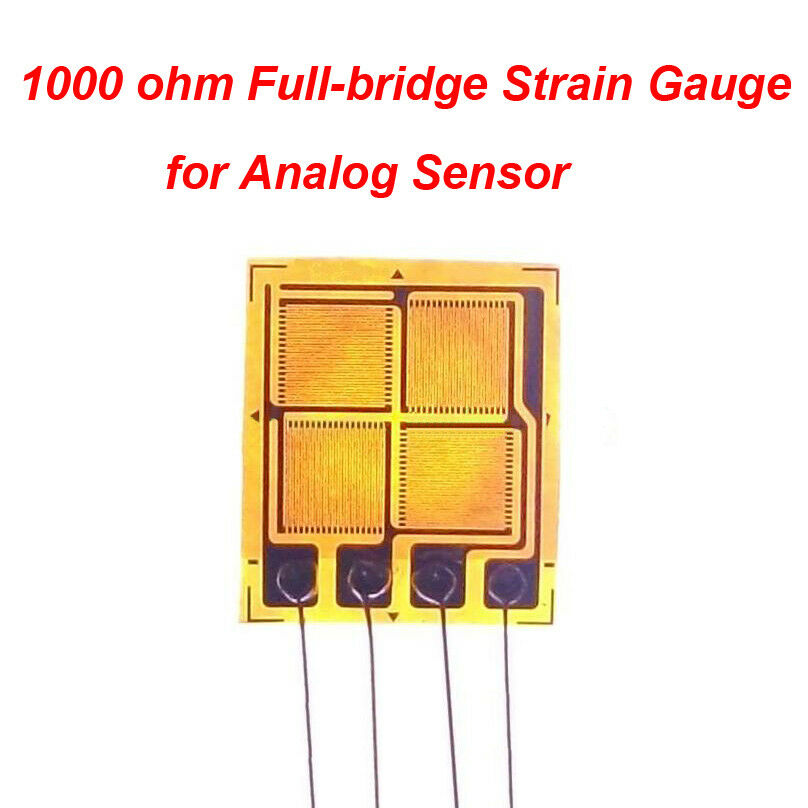 1000 ohm Full-bridge Strain Gauge 1000Ω EB Foil Strain Gauge
