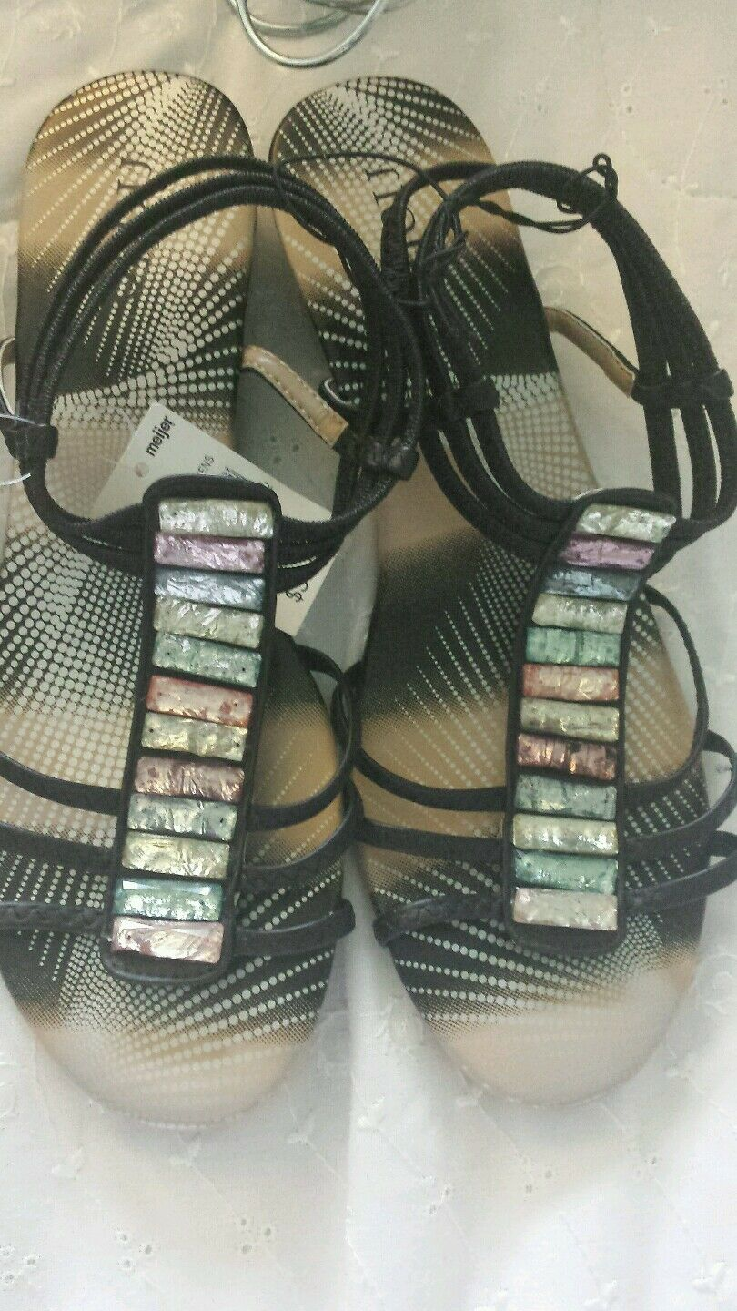 NEW WOMENS LADIES GIRLS JELLY SANDALS SHOES FLAT BEACH SUMMER FLIP FLOPS SIZE