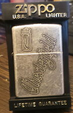 zippo chesterfield  antique silver plate never used XIII