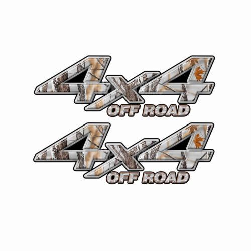 4x4 OFF ROAD Snowstorm Camo Truck Decal Sticker KA034OR4