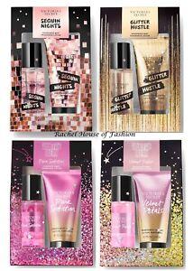 fd5414e323 Victoria s Secret Mini Fragrance Mist   Lotion Gift Set (2.5oz each ...