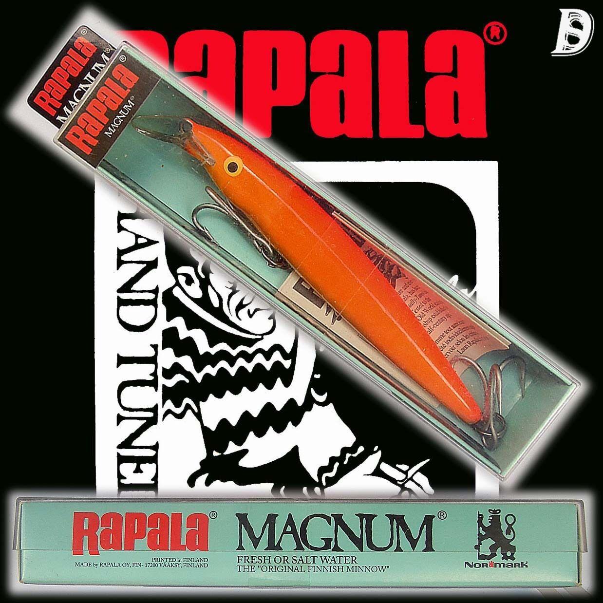 Vintage Rapala Magnum Floating 14cm GFR Finnland NiB, wurde eingestellt