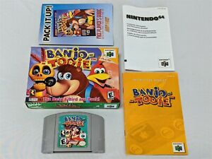 Banjo-Tooie-Game-Complete-in-Box-Nintendo-64-N64-CIB-TESTED-amp-WORKS-GREAT