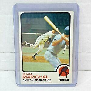 1973 Topps Set Break #480 Juan Marichal Set Break San Francisco Giants HOF