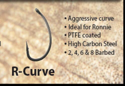 BMG TACKLE RESILIENT HOOK RANGE R CURVE 20HOOKS 2 X PACKS OF 10 HOOKS