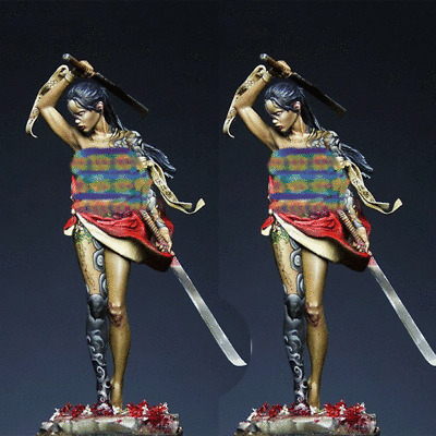Female Blade Bust Model Unpainted Unassembled Garage Kit Resin Figure 7cmH New
