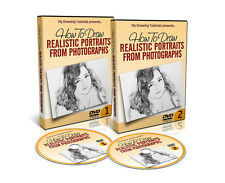 How To Draw Realistic Portraits From Photographs DVD Course - Pencil Portraits