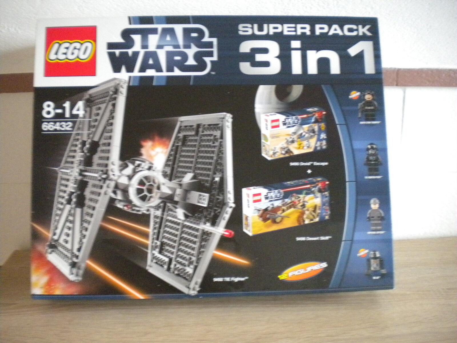 Lego Star Wars Superpack 3 in 1 No  66432 ( 9492 9490 9496 ) Neu versiegelt