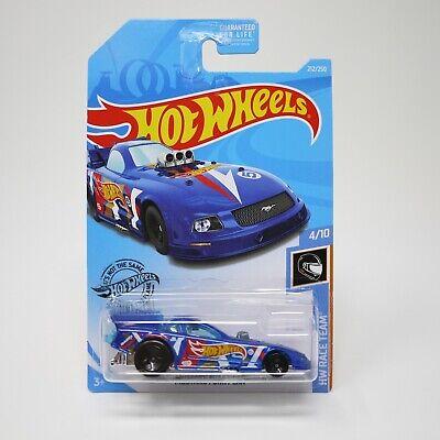 Black//Gold #157 Hot Wheels 2008 Team Drag Racing MUSTANG FUNNY CAR
