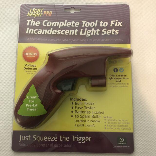 Light Keeper Pro Incandescent Light Repair Tool Voltage Detector Bulb Fuse Test
