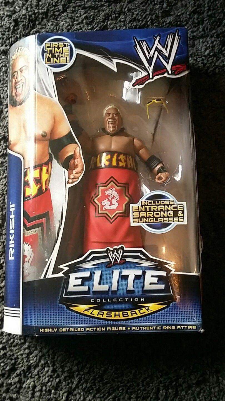 WWE ELITE SERIES 27 RIKISHI MATTEL WRESTLING FIGURE BRAND NEW BOXED