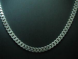 925-Chaine-en-Argent-Sterling-Argent-Veritable-52-5cm-49-0g