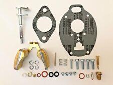 John Deere M Mc Mt 40 320 330 Carburetor Repair Kit With Throttle Shaft Amp Float