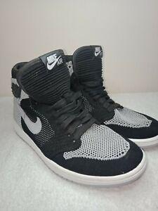Genuine-Nike-Air-Jordan-1-Retro-High-Flyknit-034-Shadow-034-Size-9US