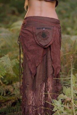 Pixie Money Belt Bum Bag Skirt Festival Pixie Goa Mini Boho Hippy Wrap Pocket