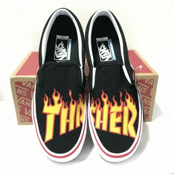 VANS slip-on VANS  THRASHER from japan (5211