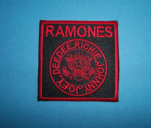 `RAMONES` SEW OR IRON ON PATCH