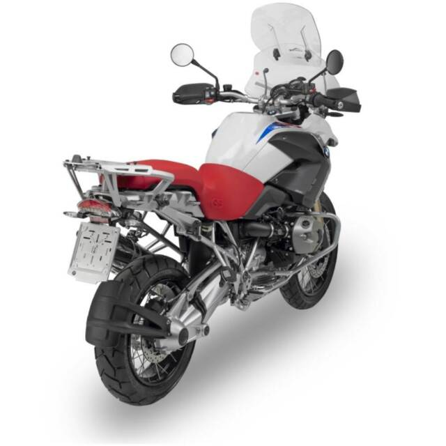 Givi SRA692 Baca Trasero con Placa Aluminio para Bauletti Monokey