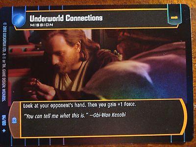 Star Wars TCG AOTC Underworld Connections FOIL 114//180
